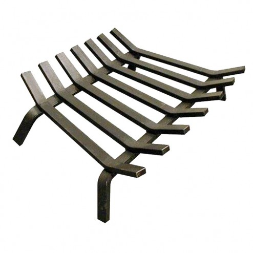 Malm M-18 Fireplace Iron Grate for Lancer, 30 & 34 Zircon, & Fire Drums
