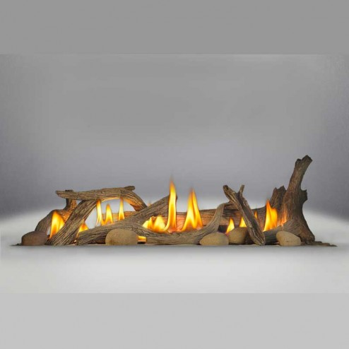 Napoleon DL45 Driftwood Log Set (includes log set & 6 river rocks)
