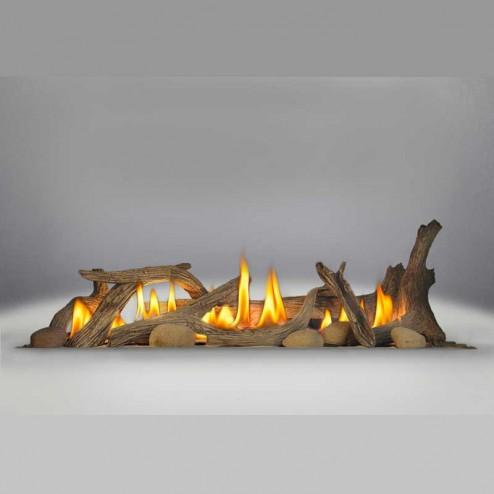 Napoleon DL45 Driftwood Log Set (includes log set & 6 river rocks)