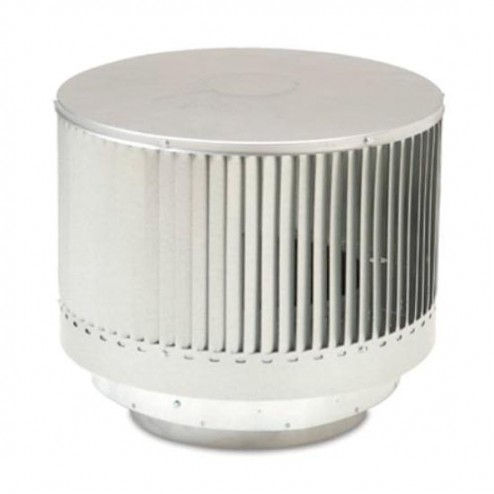 Majestic RLTS8 Round Louvered Termination for Triple-Wall Pipe