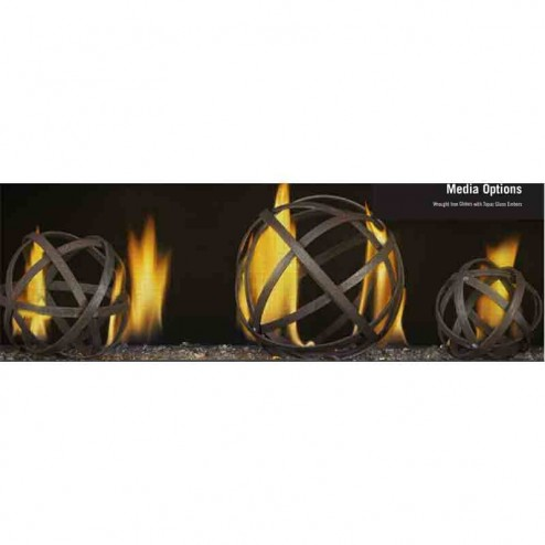 Napoleon Fireplaces WIGM Wrought Iron Globe Kit