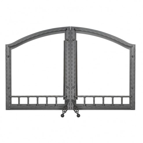 Napoleon H335-1WI Arched double door wrought iron