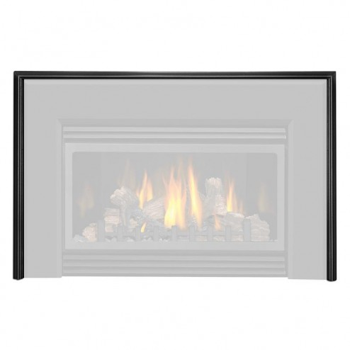 Napoleon Fireplaces GI-942K Trim for bevelled flashing black