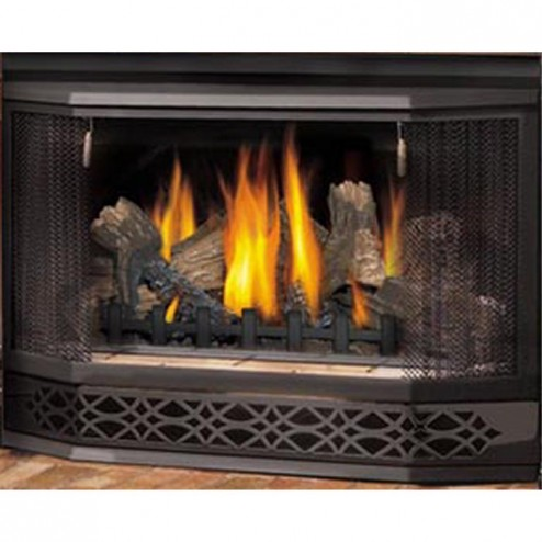 Napoleon Fireplaces GI30B-KT Bay front complete with pull screen