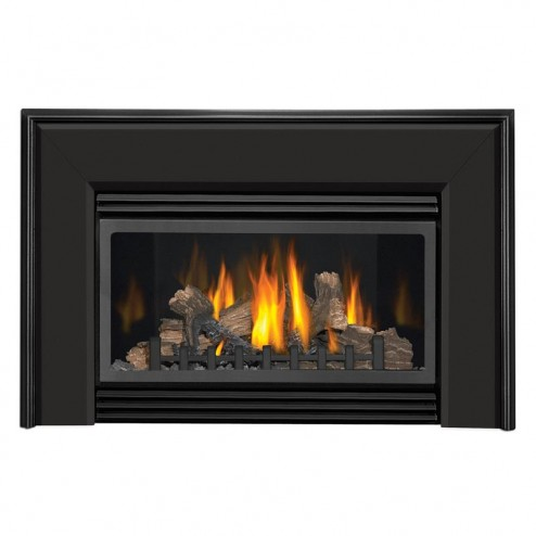 Napoleon Fireplaces GI-910K Bevelled flashing  textured black