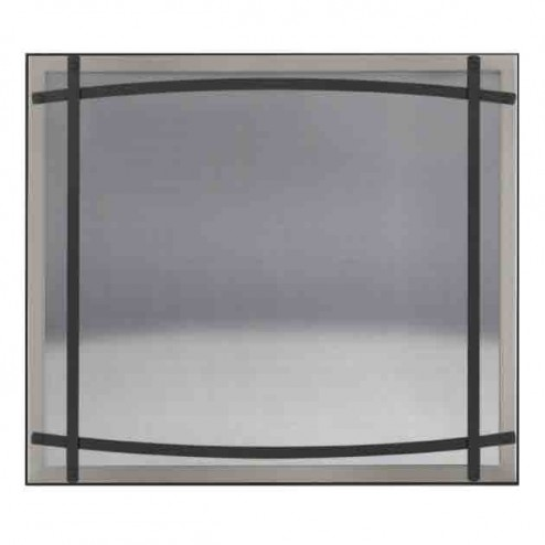 Napoleon DC40BN Brushed Nickel Safety Barrier with Curved Accents