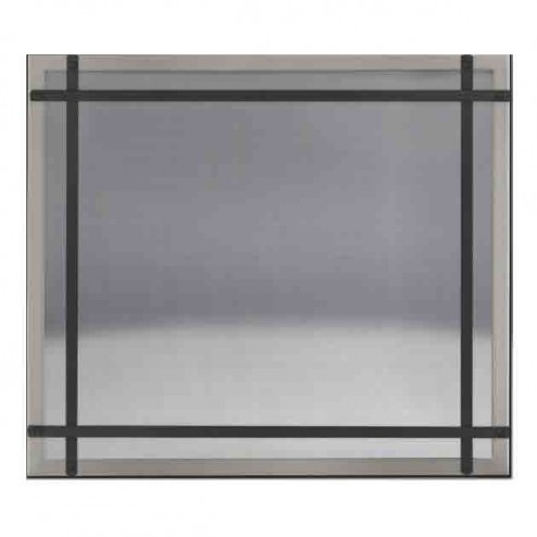 Napoleon DS46BN Brushed Nickel Safety Barrier with Straight Accents
