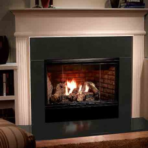 Majestic Rbv4236ih Reveal 36 36 Quot Open Hearth B Vent Gas