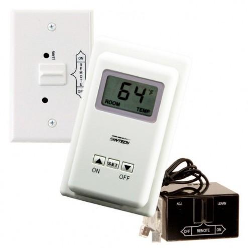 Skytech TS/R-2A Wireless Wall Fireplace Thermostat