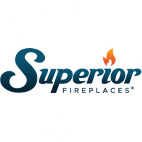 """IHP Superior TF2430PR 24"""" P, Millivolt, Triple Flame Burner,  Ember Bed"""