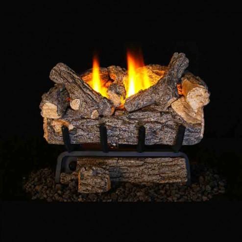 Real Fyre Valley Oak(VO8E) Vent Free Log set