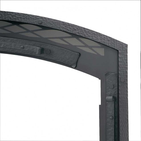 IHP Superior BTFMC Hammered Steel Facade