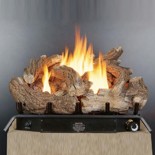 "24"" Vent Free Log Set With Thermostat GLD2450"