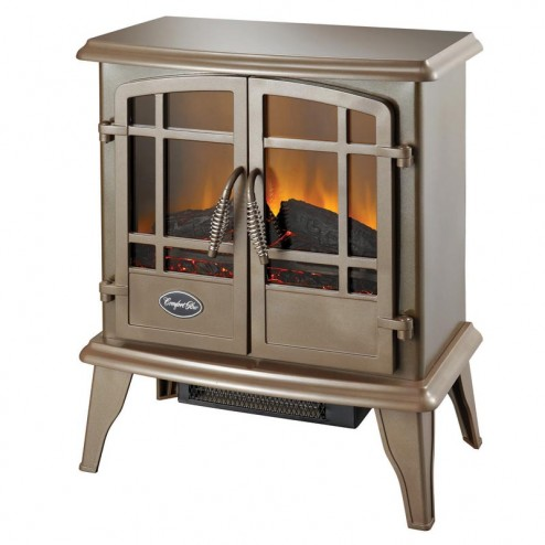 The Keystone ES5132 Bronze Electric Wood Stove