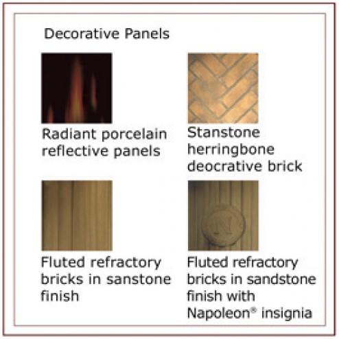 Napoleon PRP82 Porcelain reflective radiant panels