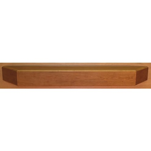 Fireplace Front Contemporary Clear Coat Poplar Mantel Shelf