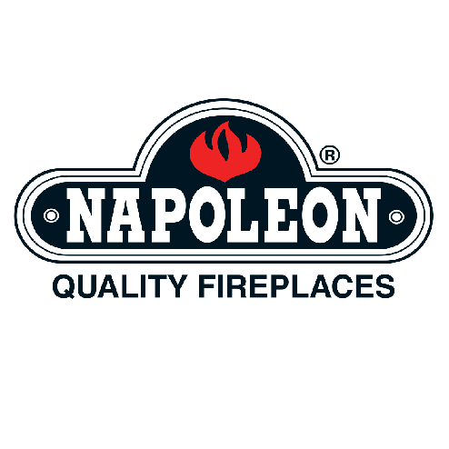 "Napoleon NI800 8"" black flashing with black trim painted black"