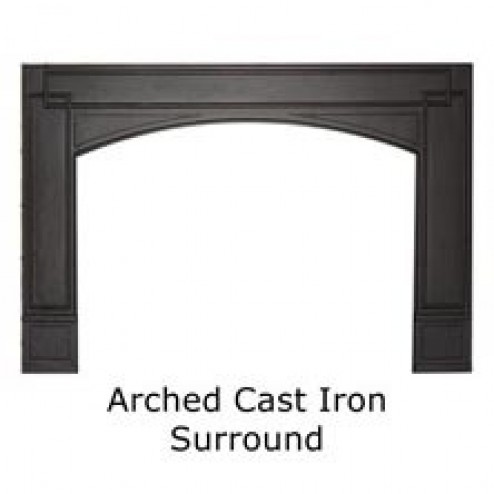 Napoleon GICSK Arched Cast Iron SurroundBlack