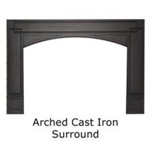 Napoleon GICSK Arched Cast Iron SurroundBlack