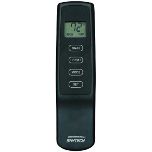 Skytech SKY-1410T/LCD-A 110 Volt Electric  Fireplace Remote Control