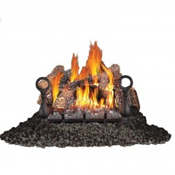"Napoleon GVFL18N Fiberglow Vent Free Natural Gas 18"" Log set"