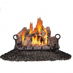 "Napoleon GVFL24N Fiberglow Vent Free Natural Gas 24"" Log set"
