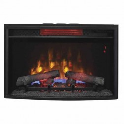 "Classic Flame 25II310GRA 25"" Curved Spectrafire Plus Insert with Safer Plug"