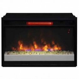 "Classic Flame 26II310GRG-201 26"" Spectrafire Plus Infrared Contemporary Insert with Safer Plug"