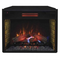 "Classic Flame 28II300GRA 28"" Spectrafire Plus Insert with Safer Plug"