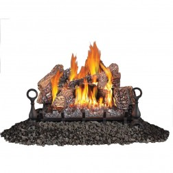 "Napoleon GVFL30N Fiberglow Vent Free Natural Gas 30"" Log set"