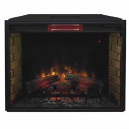 "Classic Flame 33II310GRA 33"" Spectrafire Plus Infrared Insert w/ Safer Plug"