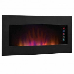 Classic Flame 34HF600GRA Serendipity Wall Hanging Electric Fireplace