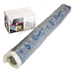 Osburn AC02090 5 in X 4 ft Insulated Flex Pipe For Fresh Air Intake Kit