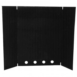 Osburn AC05550 Black Heat Shield