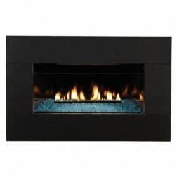 Empire VFLC28IN72N Loft Vent-Free NG Zero-Clearance Fireplace /28K BTU Burner & Cover/IP