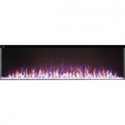 "Napoleon NEFB60H-3SV Trivista 60"" Built-in Electric Fireplace"