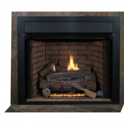 "IHP Superior VRT4036WH 36""Wht Hrgbn VF Firebox/Tall Ope"