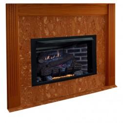 """IHP Superior VRT4036ZMN 36"""" NG VentFree MV Fireplace"""