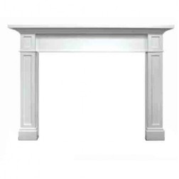 "Majestic Acadia 53"" Flush Mantel-Unfinished Maple-AFAAAUC"