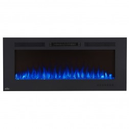 Napoleon NEFL50FH-MT Allure 50 Phantom Electric Fireplace, Mesh Screen, Matte Black