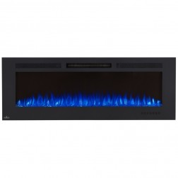 Napoleon NEFL60FH-MT Allure 60 Phantom Electric Fireplace, Mesh Screen, Matte Black