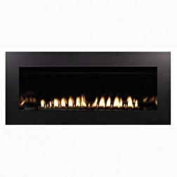 "Empire VFLL48FP90LP Boulevard Contemporary Linear Vent-Free 48"" LP 40K BTUs Fireplace w/IP & Thrm Remote"