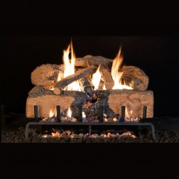 Real Fyre Charred Angel Split Oak(CHNS) Log set