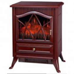 Comfort Glow ES4220  The Ashton Electric Stove-Cranberry