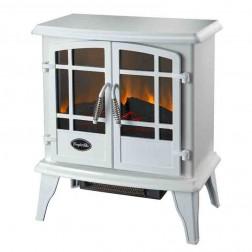 Comfort Glow EQS134  The Keystone Electric Stove Contemporary White w/Quartz