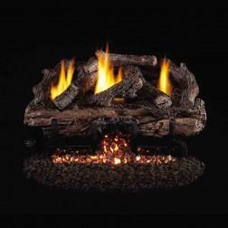 Real Fyre Charred Aged Split Oak (CHAS) Vent Free Log set