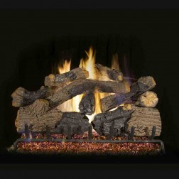 Real Fyre Charred Grizzly Oak(CHGO) Log set
