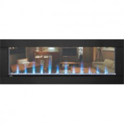 "Napoleon CLEARion NEFBD50H 50"" See Thru Electric Fireplace"