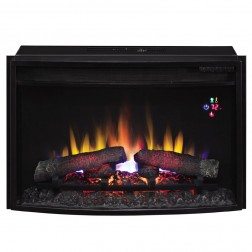 "Classic Flame 25EF031GRP  25"" Curved Spectrafi Plus Electric Insert w/Safer Plug"