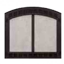 Majestic Contour60BK Contour Cabinet Style Mesh Door Black For SB60